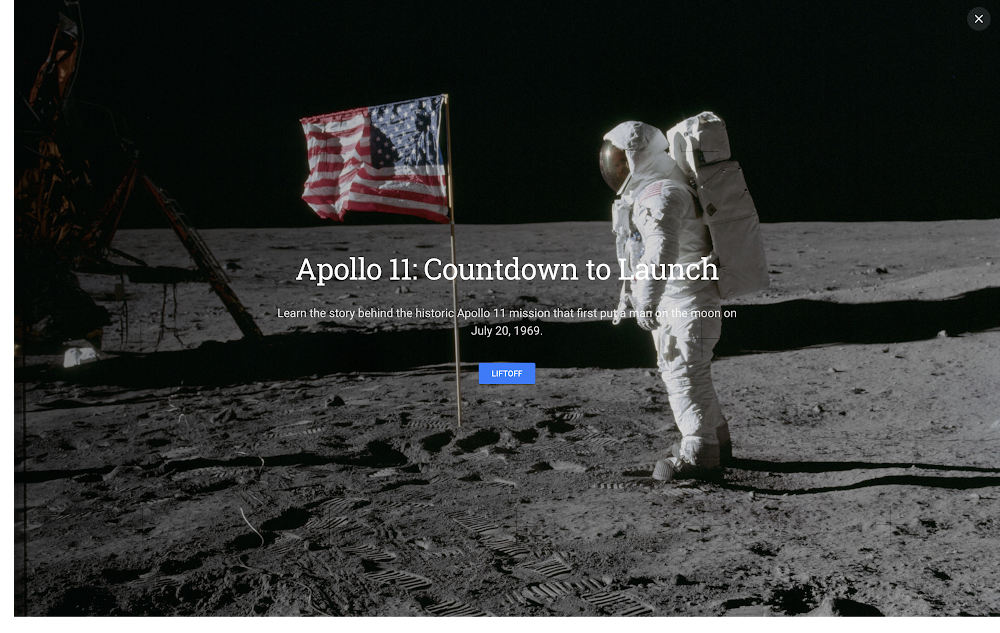 Celebrate 50 years of space exploration in Google Earth
