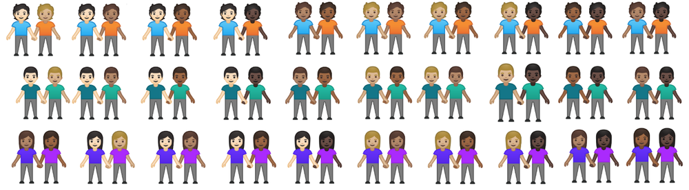 New Inclusive Emoji 12.1 Update