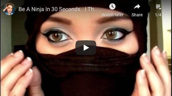 30-second ninja video
