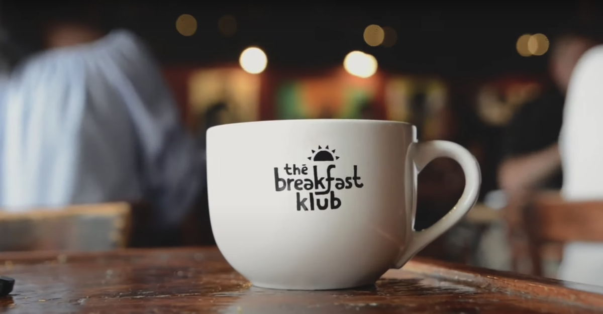 Breakfast Klub coffee cup