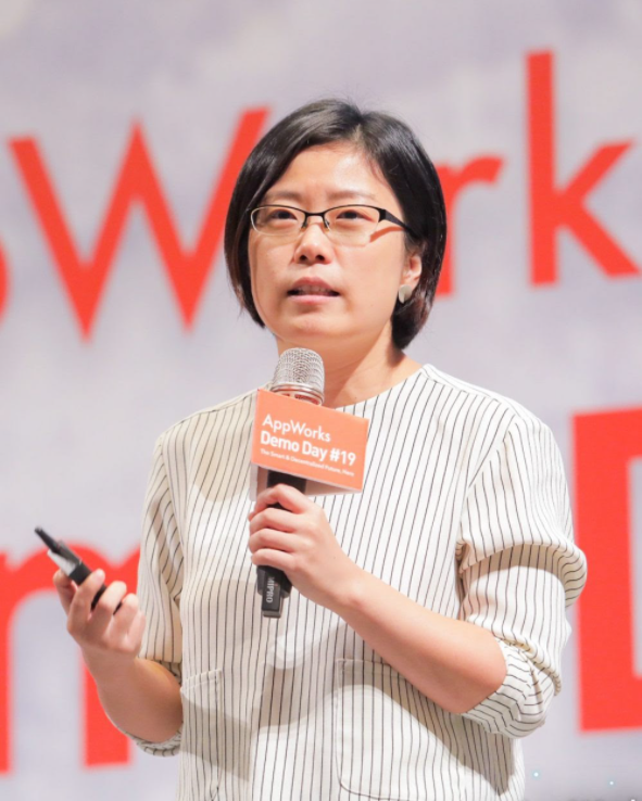 Zhang Jieping, founder of Matters Lab, speaking at an event