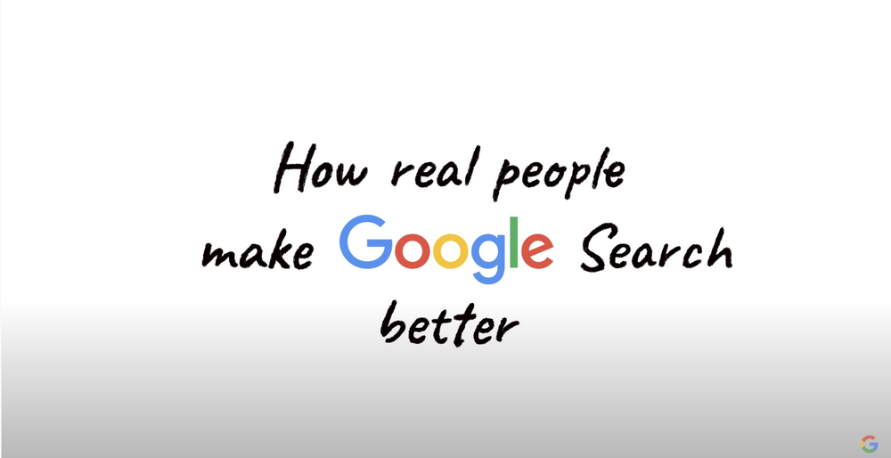 Every year Google runs hundreds of thousands of tests to see if a change we're considering to Search will actually make it better. One of the ways we test for that is by turning to real people. Learn more about our Search Quality Raters and how it works.