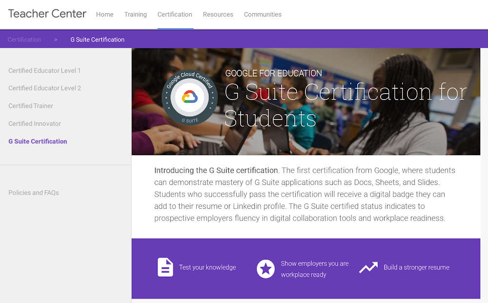 G Suite Certification