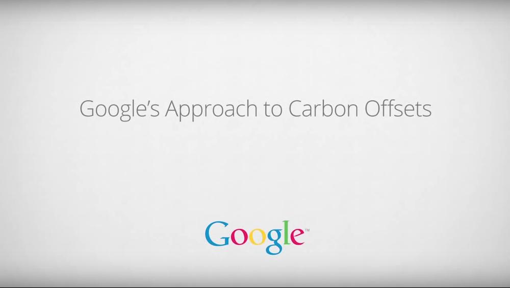 Google's carbon offsets