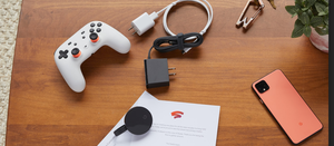 Stadia video game controller