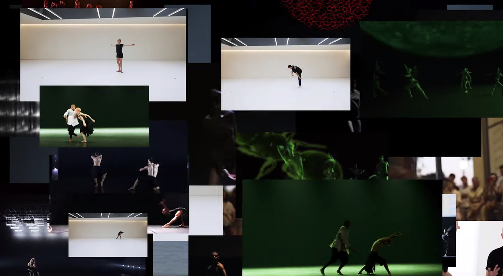 When fashion and choreography meet artificial intelligence