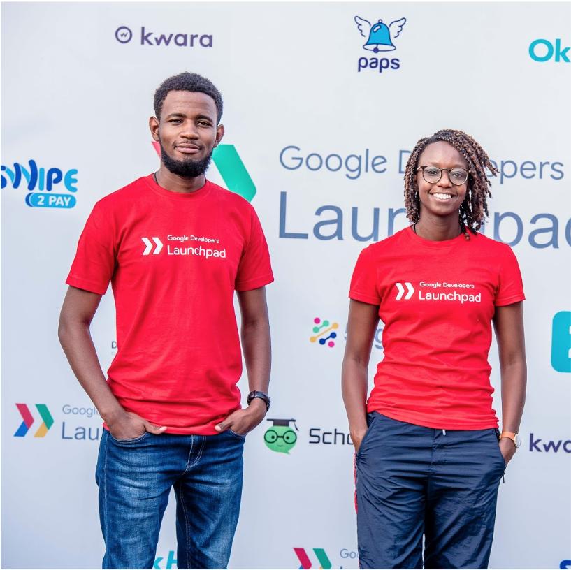 Two Kwara team members smiling