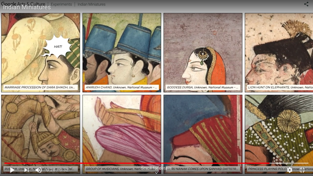 India's mini-masterpieces brought to life with AI and AR
