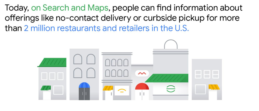 Using Search and Maps, you can find information about businesses.