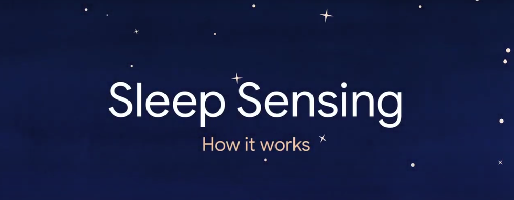 YouTube video about Sleep Sensing and Soli technology.