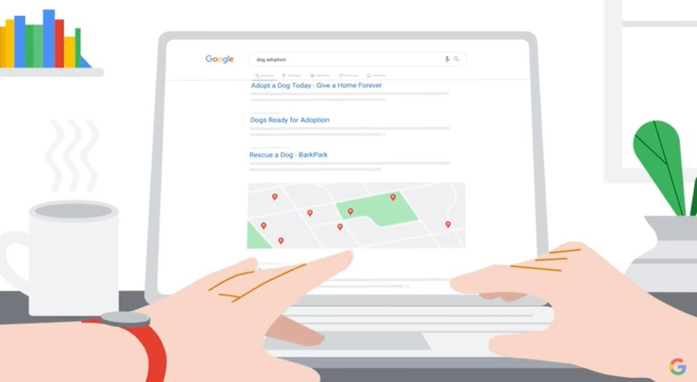 Ein Video darüber, wie Menschen die Google Suche verbessern