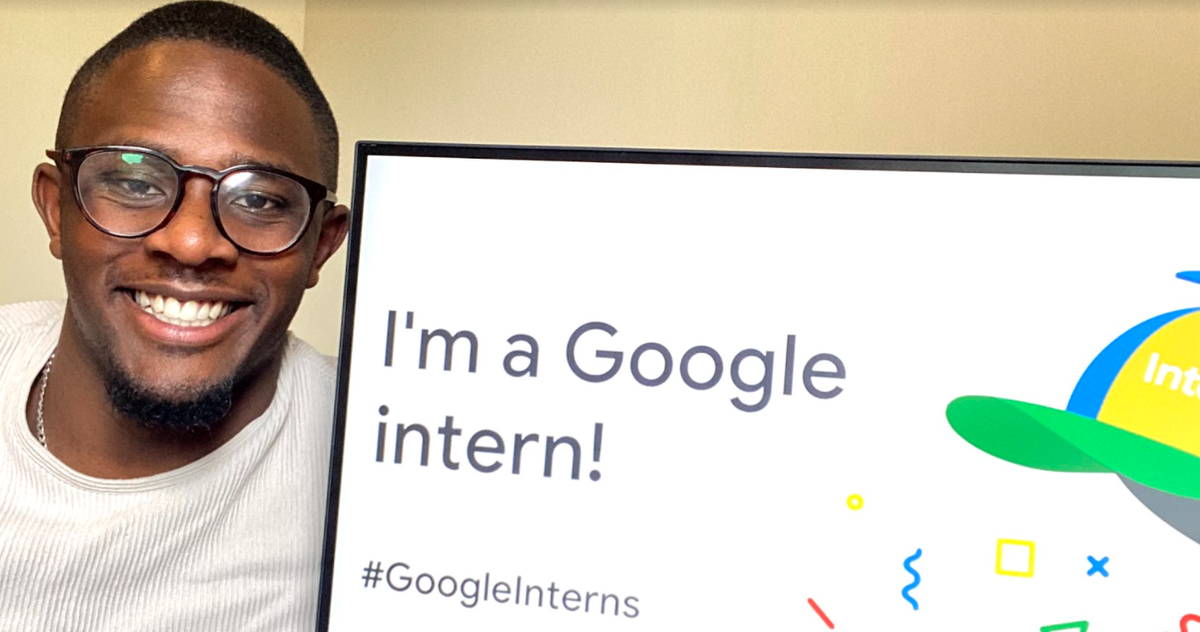 How persistence paid off for business intern James Frater