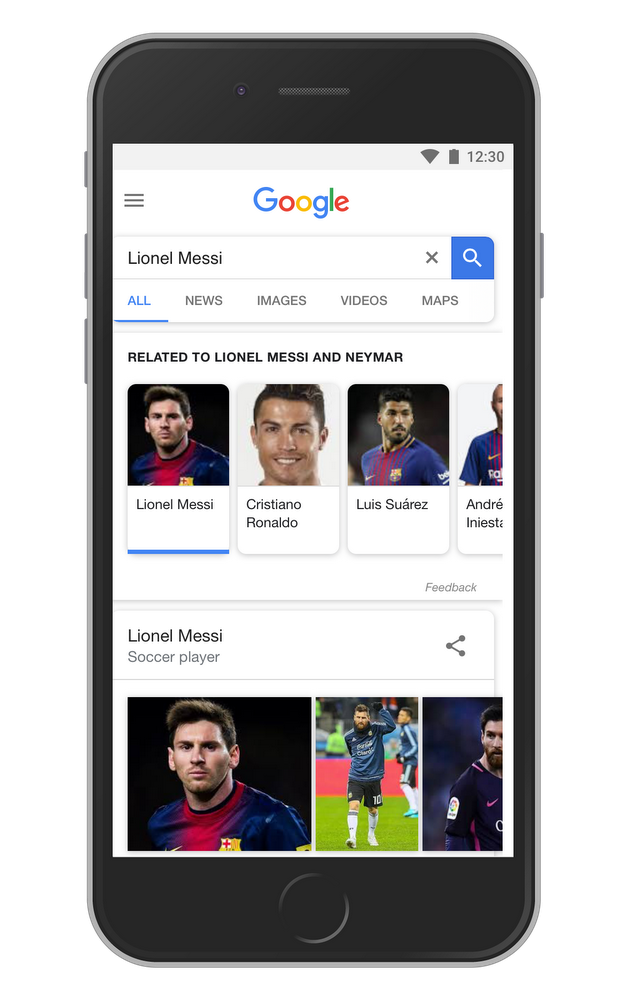search session neymar and messi
