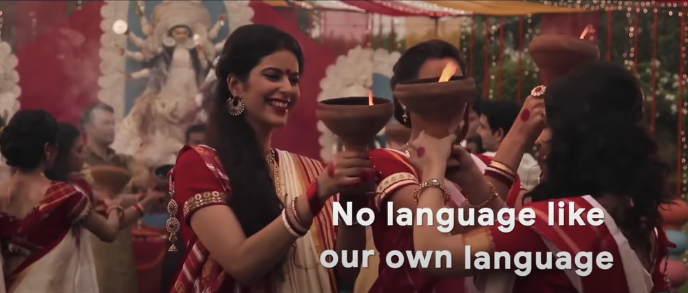 A video showcasing a localization event in India.