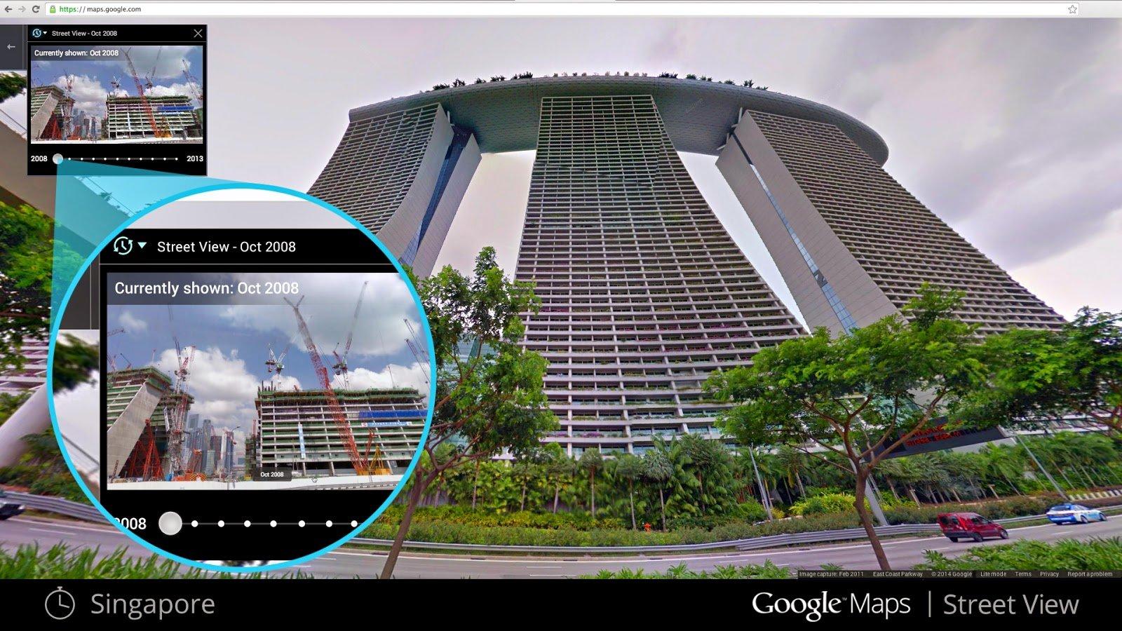 Singapore time machine