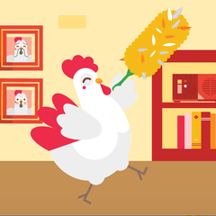 Spring cleaning ahead of the Year of the Rooster