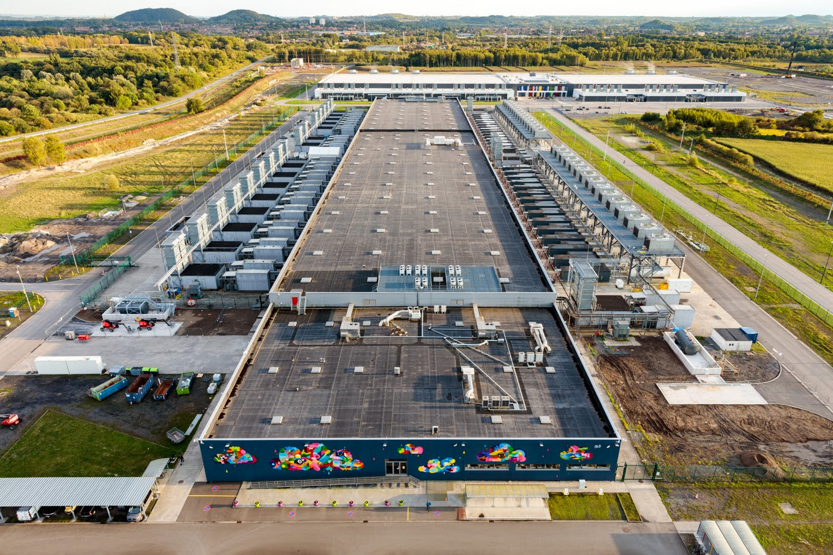 St Ghislain data center
