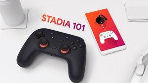 Stadia controller