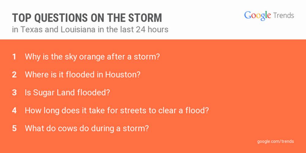 Storm questions