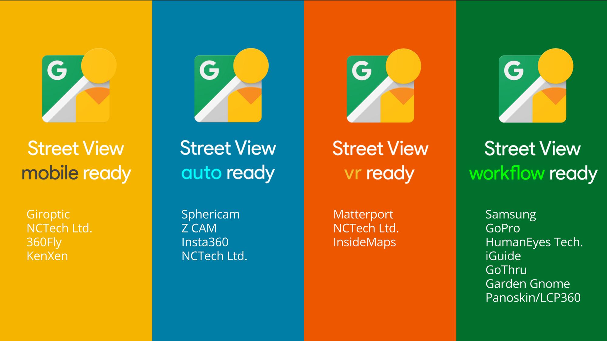 Google Street View Camera's