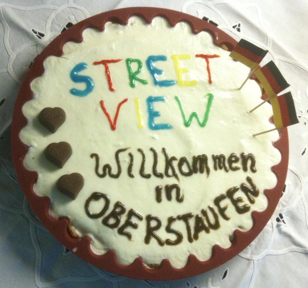 Ein Bild der Street View Torte