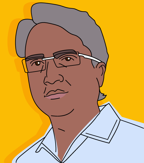 Sunil cartoon image