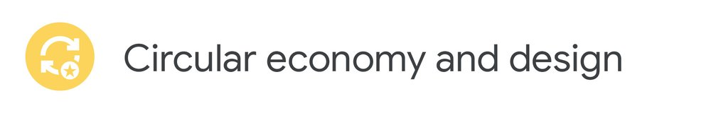 Circular economy and design