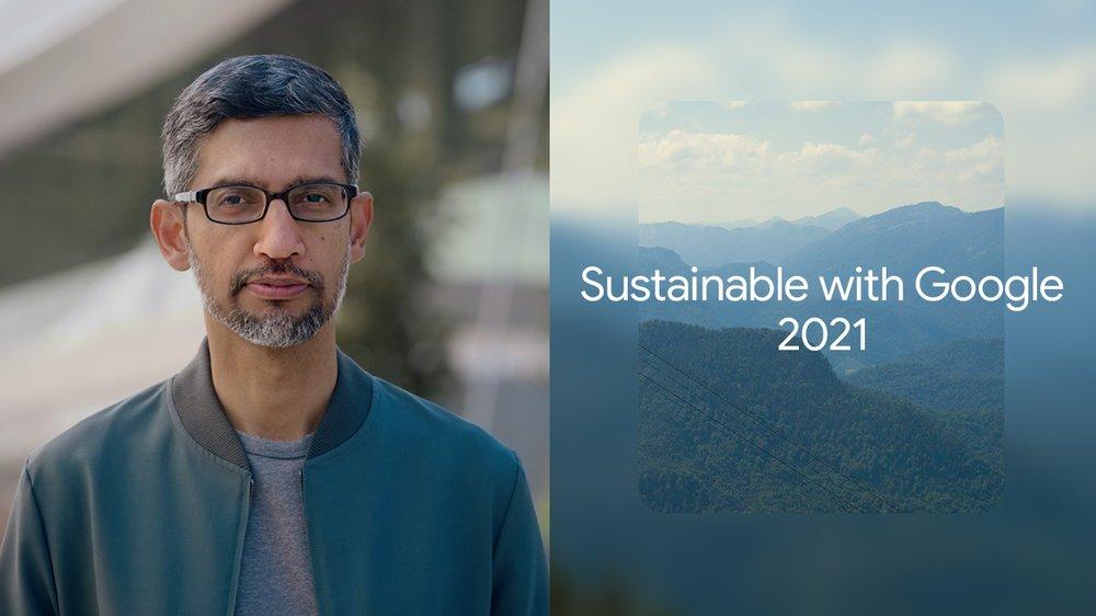 "Mira el evento ""Sustainable with Google""."