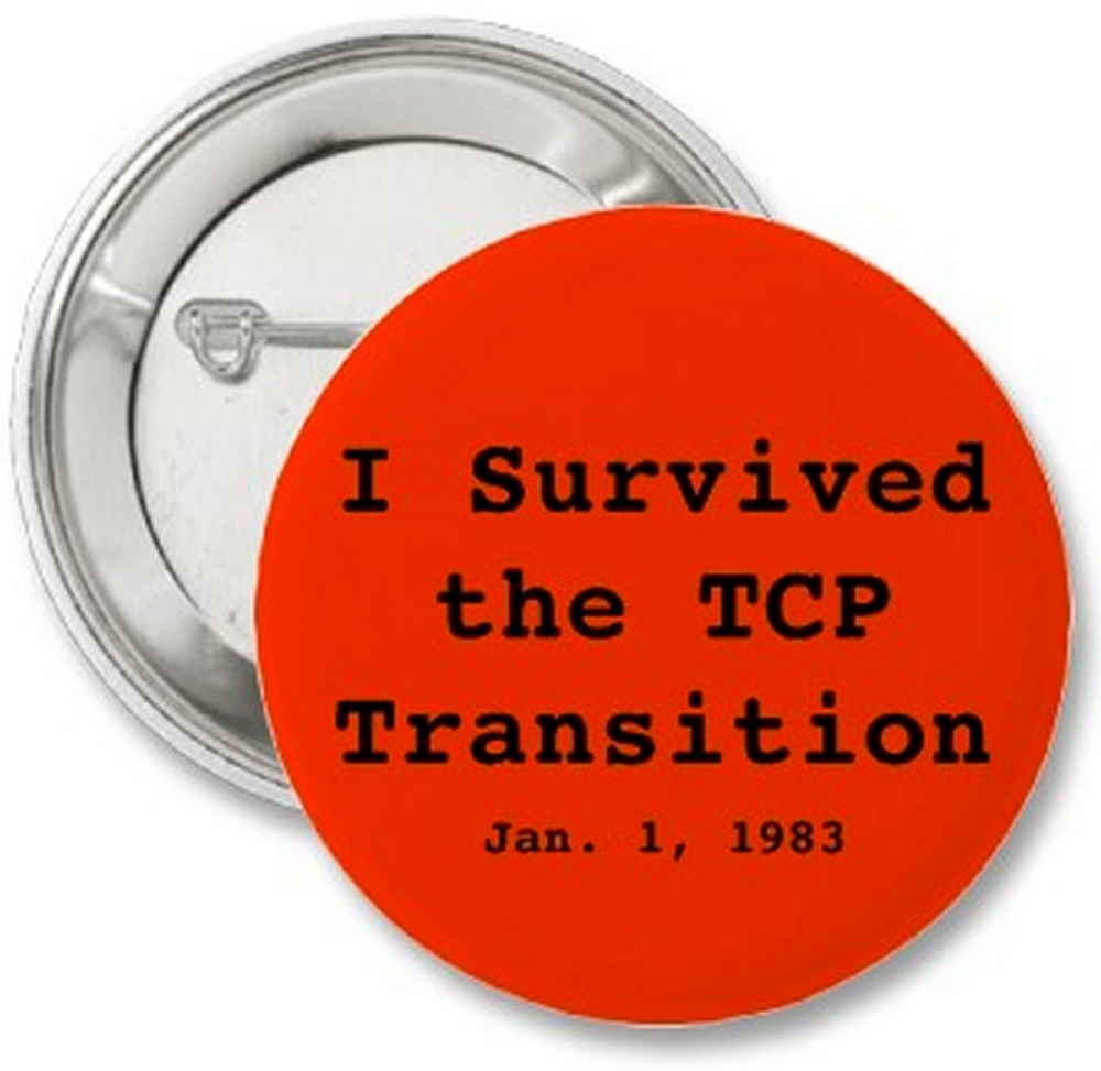 TCP transition button