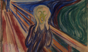 Image of the impressionist painting The Scream
