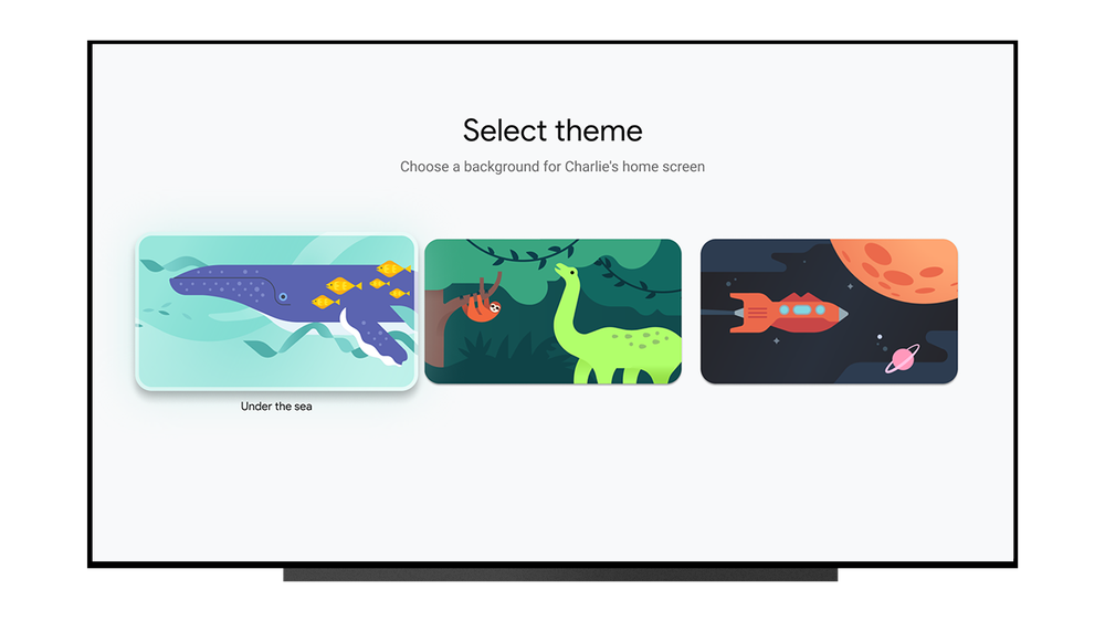 Theme selector
