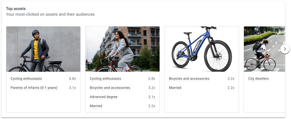 Google Performance Max Insights Page in Google Ads