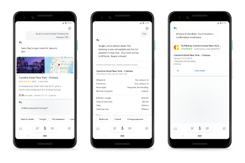 Two new ways the Google Assistant can help with an upcoming trip