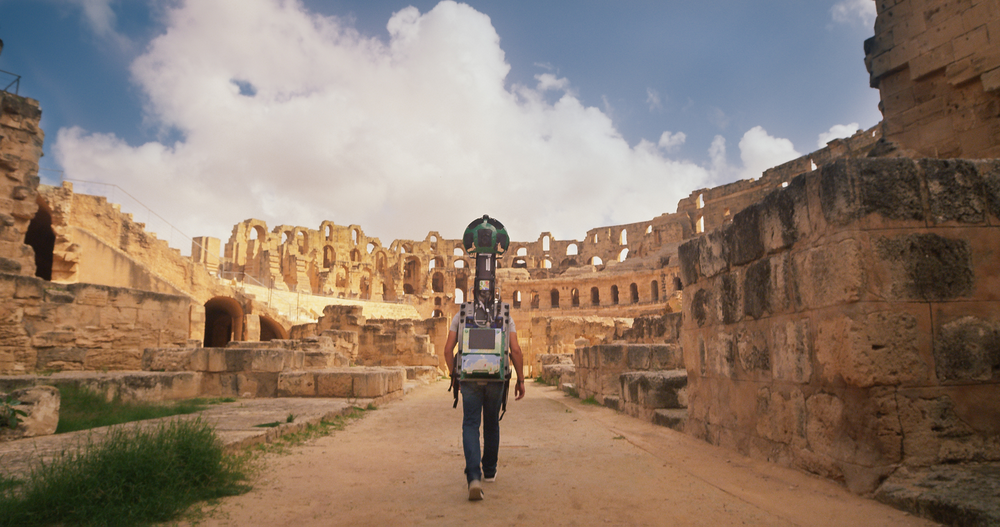 Explore the Amphitheatre of El Djem in Tunisia on Google Maps