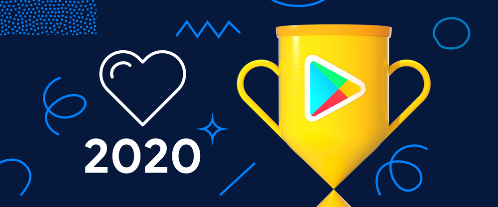 Image showing trophy for Google Play Best of 2020