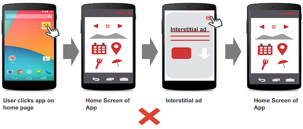 Using Splash Pages to Avoid Unexpected Launch Interstitials