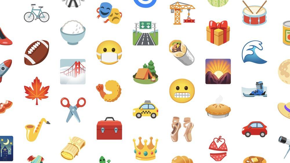 new google emoji update