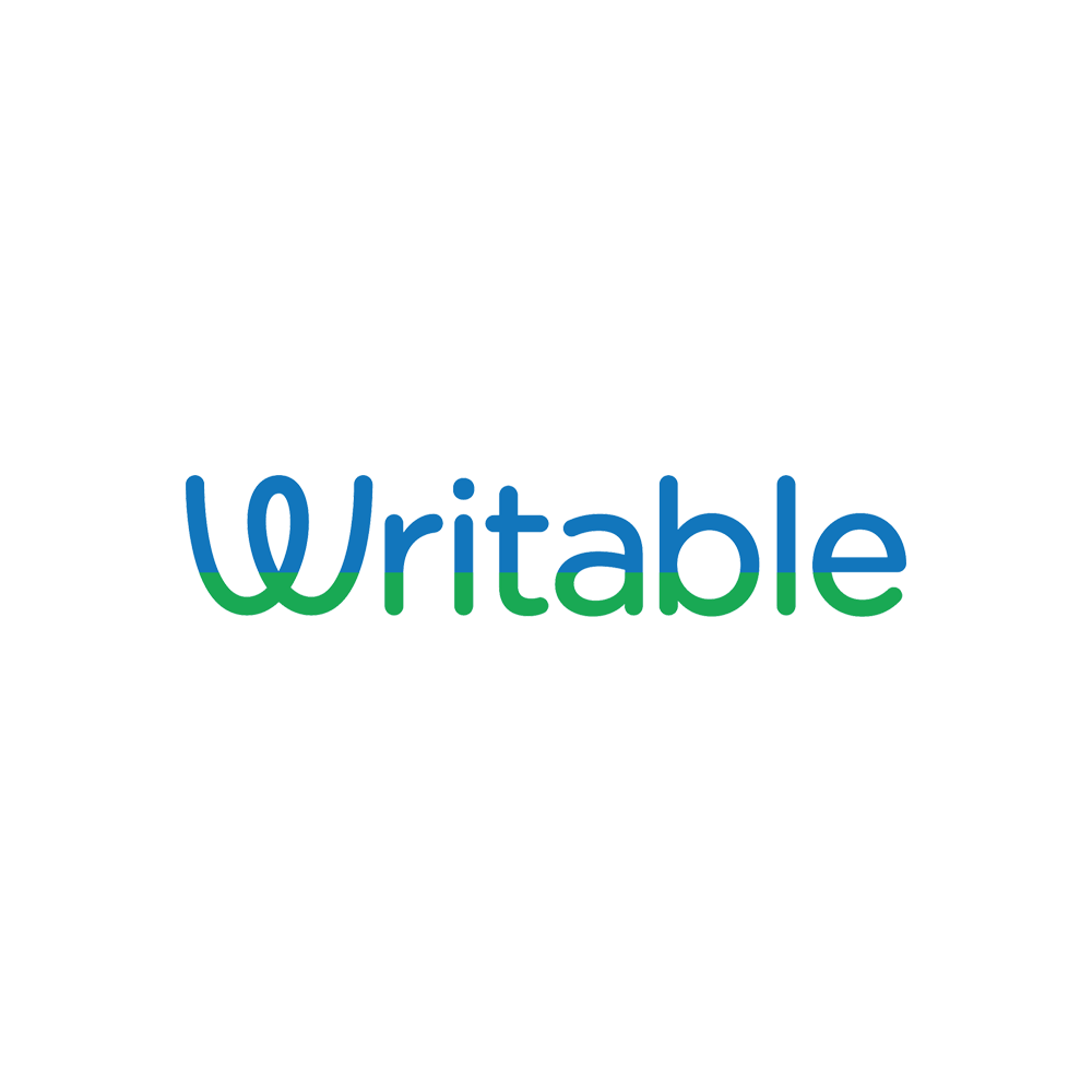 Writable app logo