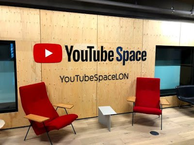 YouTube Space at the Google London office