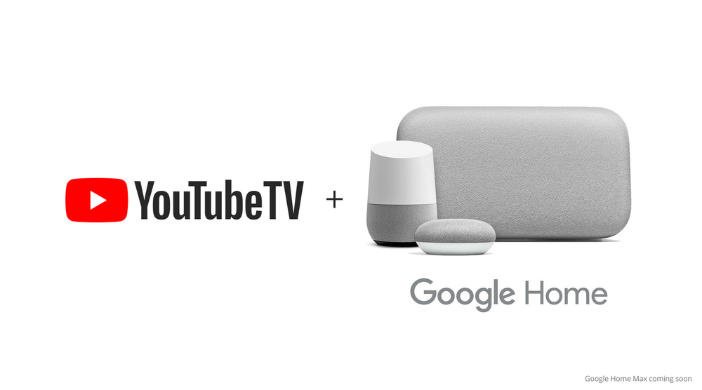 Stream YouTube TV using your voice on Google Home
