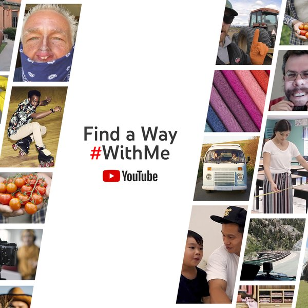 YouTube launches 'Find a way #WithMe'