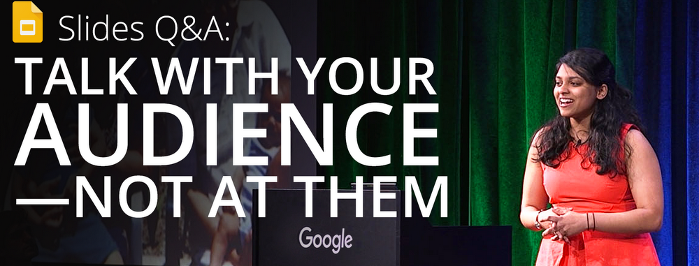 Talk with your audience — not at them — with Slides Q&A