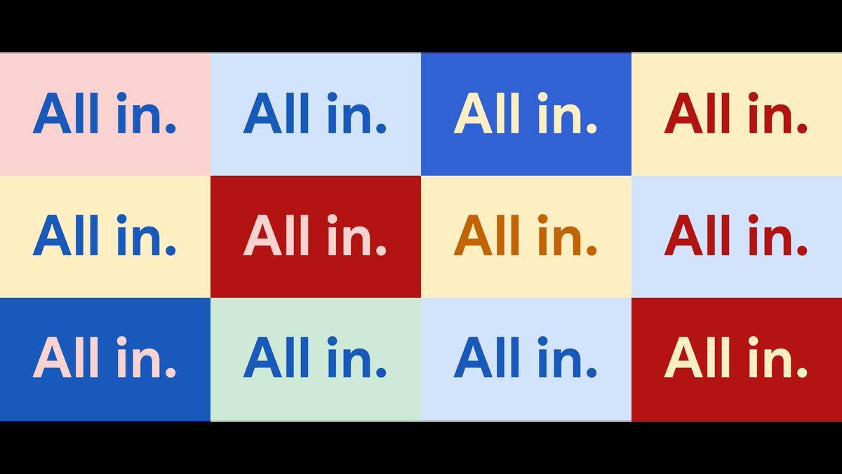 All In inclusive marketing