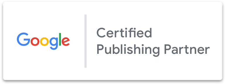 Google Certified Publishing Partner badge