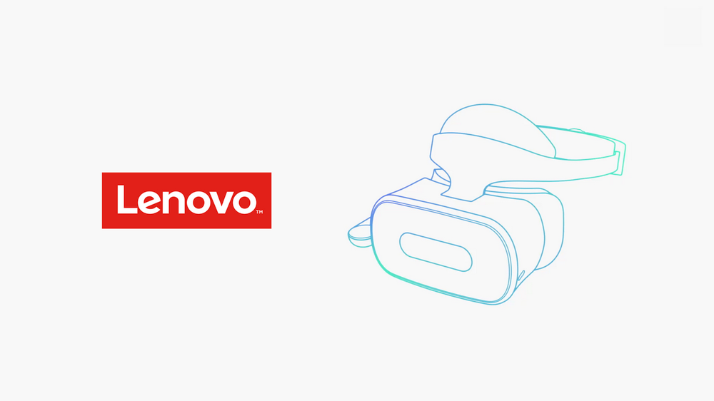 Lenovo standalone headset with Daydream