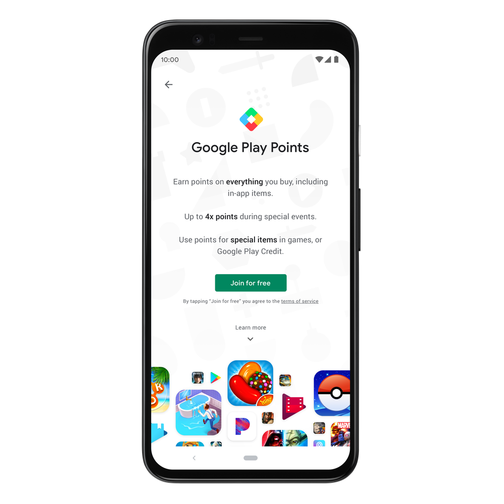 Google Play Points: a rewards program for all the ways you Play