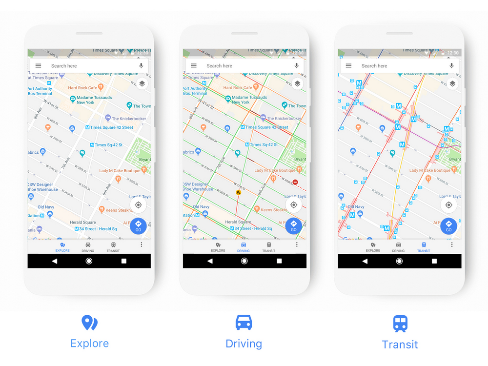 Google Maps gets a new look on