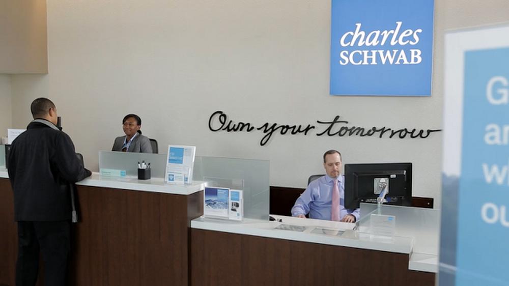 Charles Schwab front desk