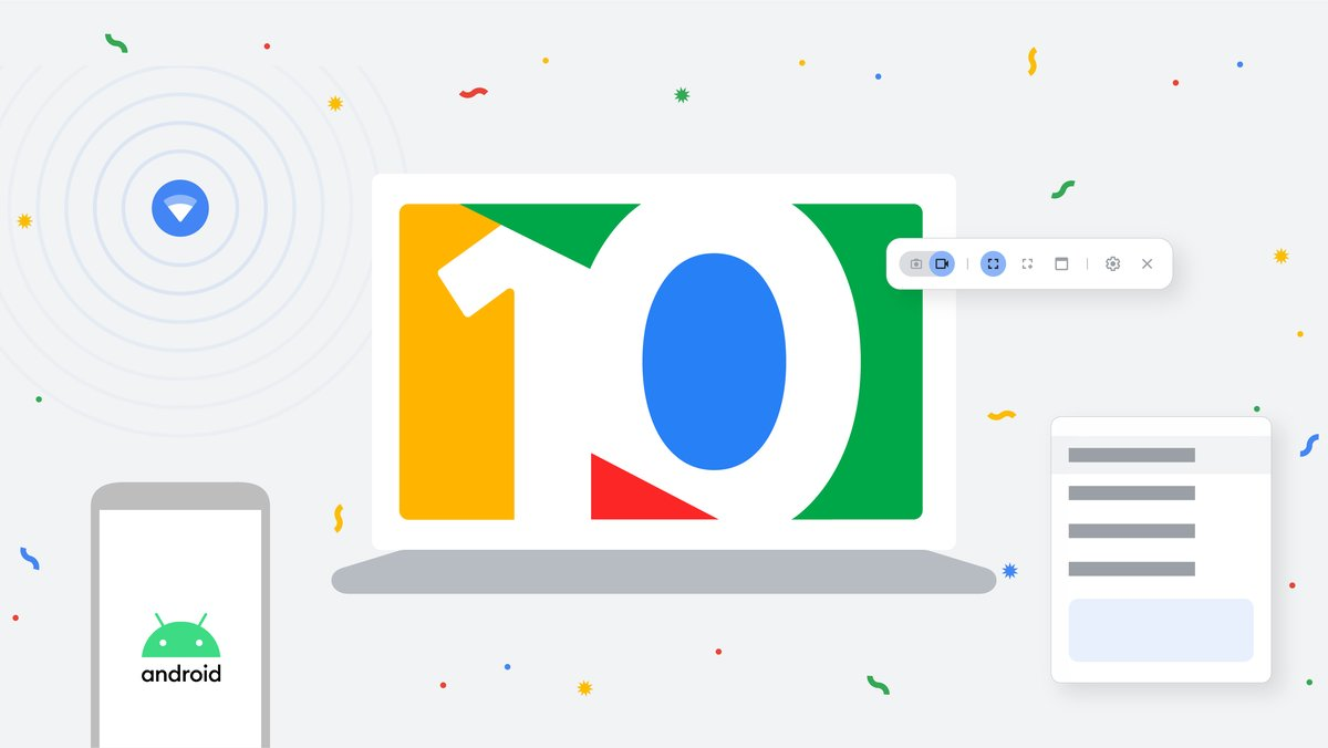 Chromebook features