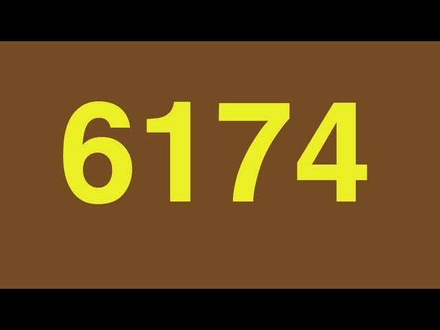 6174 - Numberphile